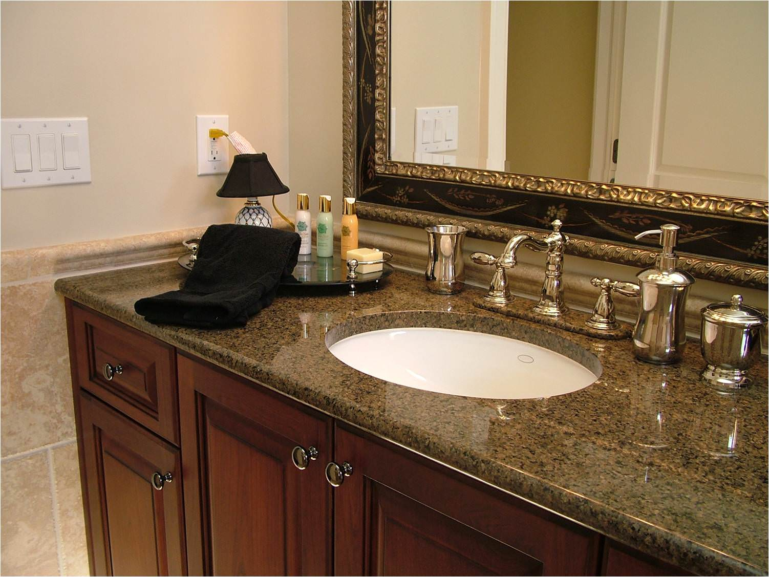 Natural Stone Countertop For Your Bathroom