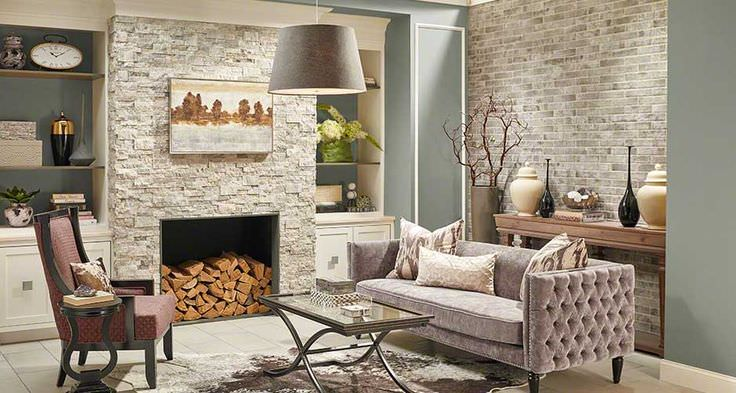 Natural Stone For Fireplace upgrad home with a natural stone fireplace | table rock company