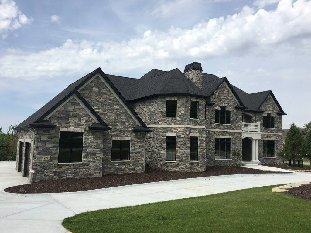 Stone siding options for your home table rock company for House of granite and marble